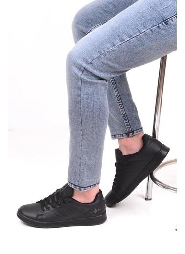 Bestof 041 Erkek Günlük Sneaker Spor Ayakkabı Beyaz
